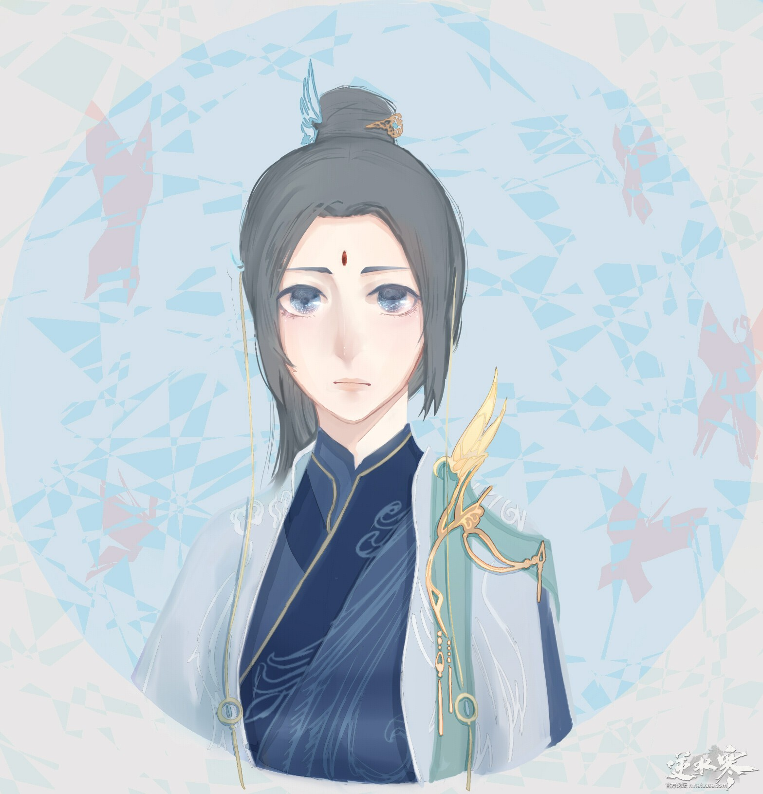 【自在门】【手绘】九灵神相素问,麻麻,这里有3只小仙女=3=
