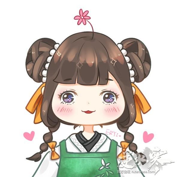 【自在门】【手绘】小厨娘天下第一可爱hhhh