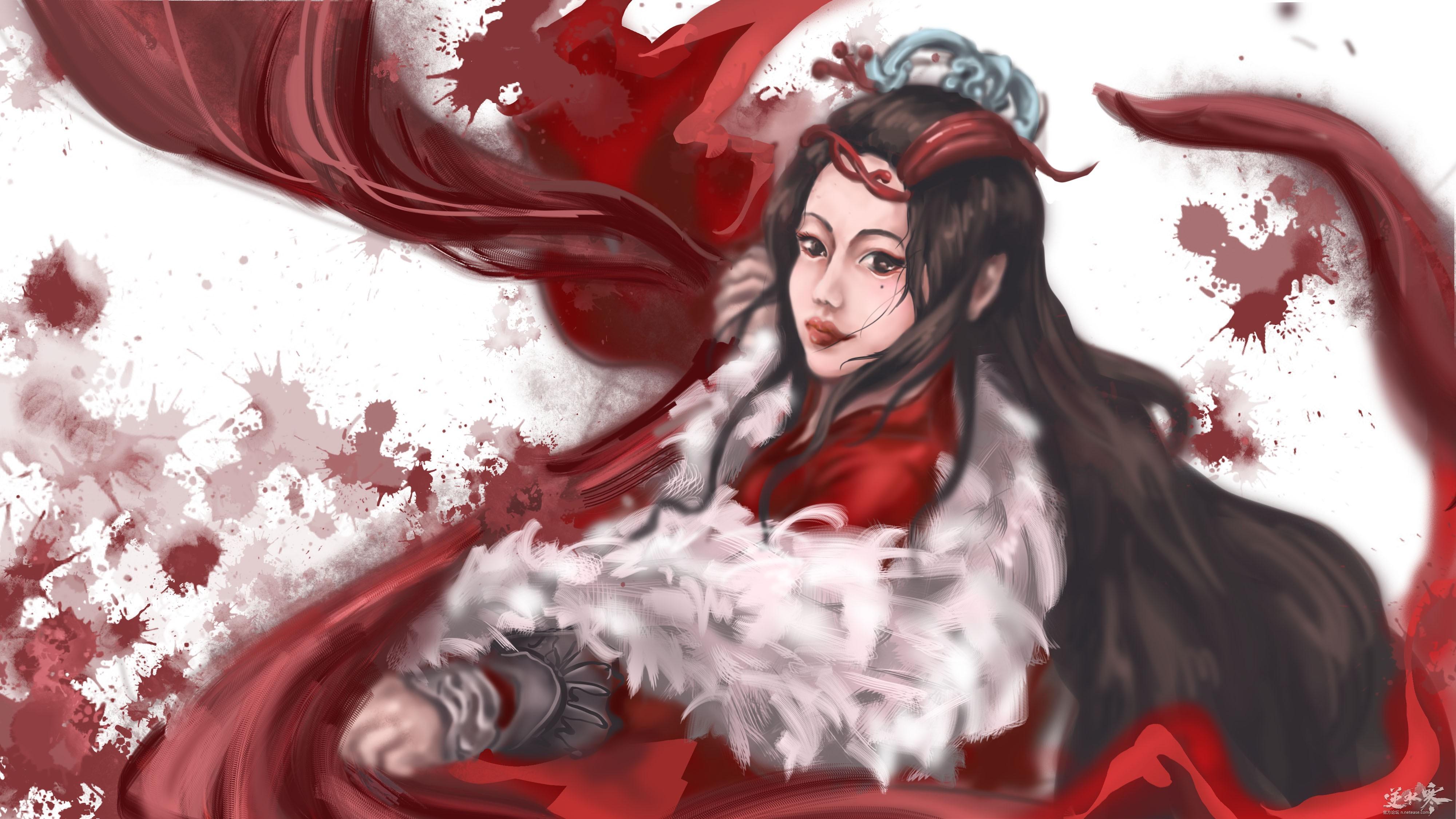 【自在门】【手绘】血红有泪
